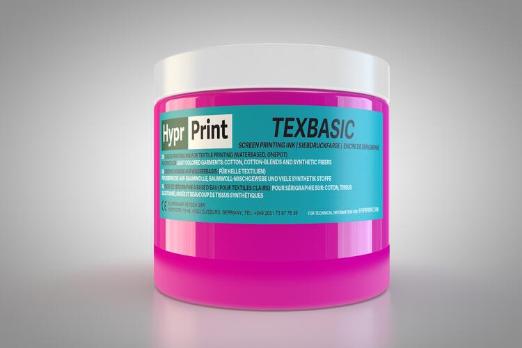 HyprPrint TEXBASIC Neon Pink 250ml