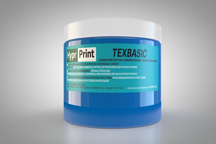 HyprPrint TEXBASIC Blau 250ml