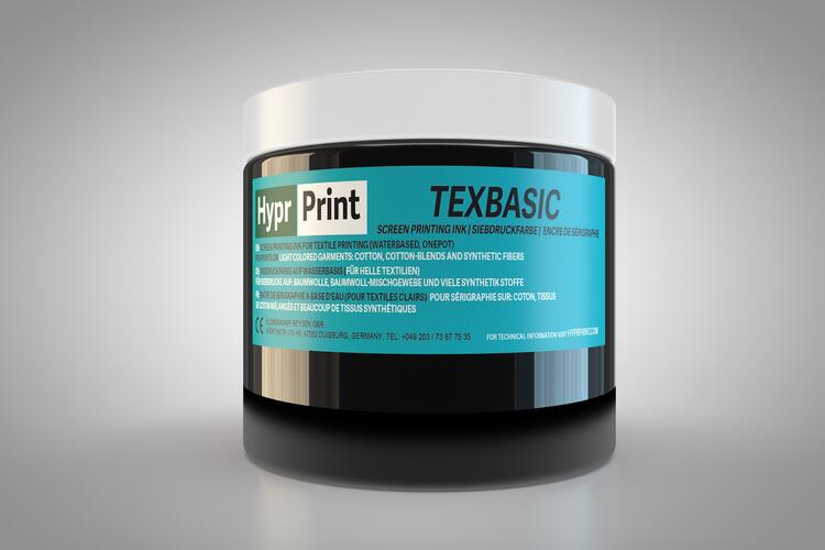 HyprPrint TEXBASIC Schwarz 250ml