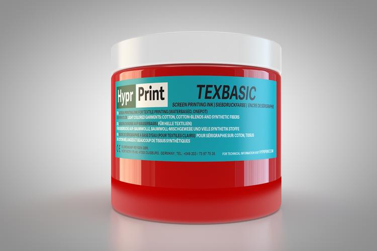 HyprPrint TEXBASIC Rot 250ml