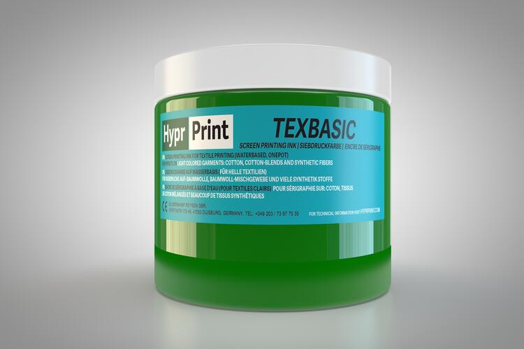 HyprPrint TEXBASIC Grün 250ml