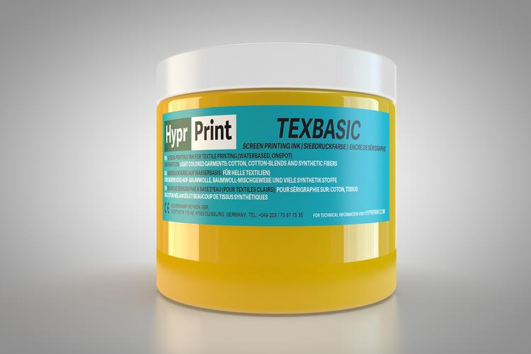 HyprPrint TEXBASIC Gelb 250ml