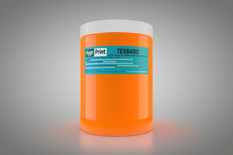 HyprPrint TEXBASIC Neon Orange 1 Liter