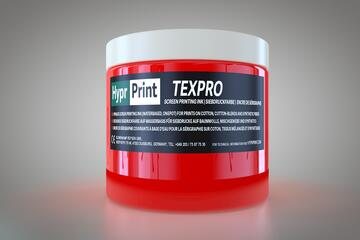 HyprPrint TEXPRO Neon-Rot