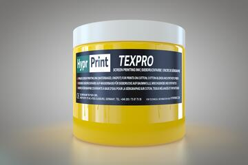 HyprPrint TEXPRO Yellow - CMYK