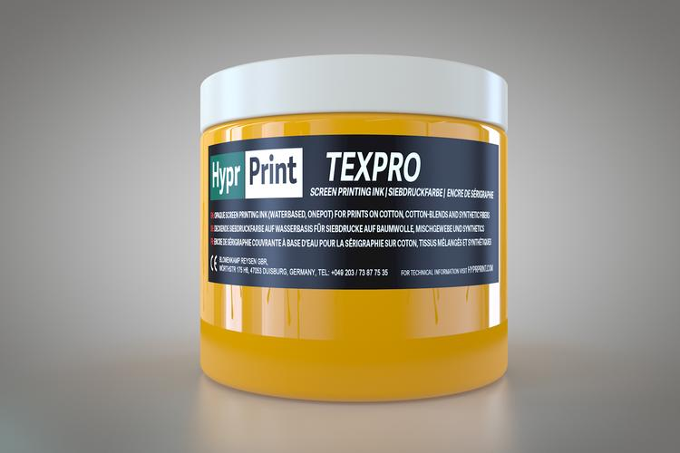 HyprPrint TEXPRO Goldgelb 250ml
