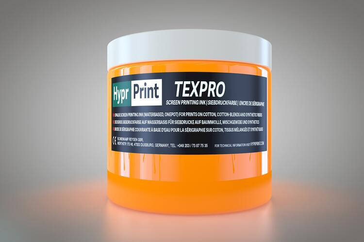 HyprPrint TEXPRO Neon-Orange 250ml