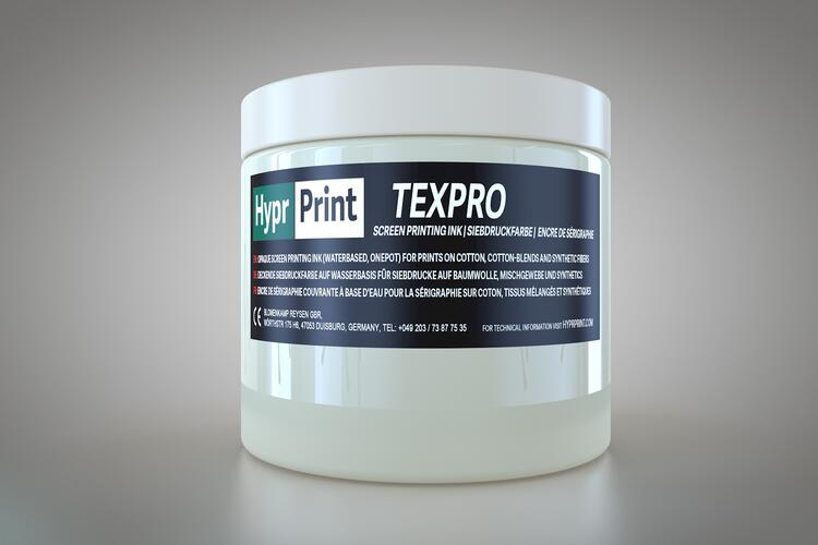 HyprPrint TEXPRO Transparente Basis 250ml