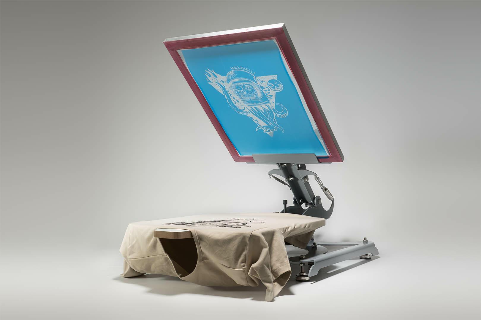siebdruckmaschine hyprpress 1000 f r den siebdruck. Black Bedroom Furniture Sets. Home Design Ideas