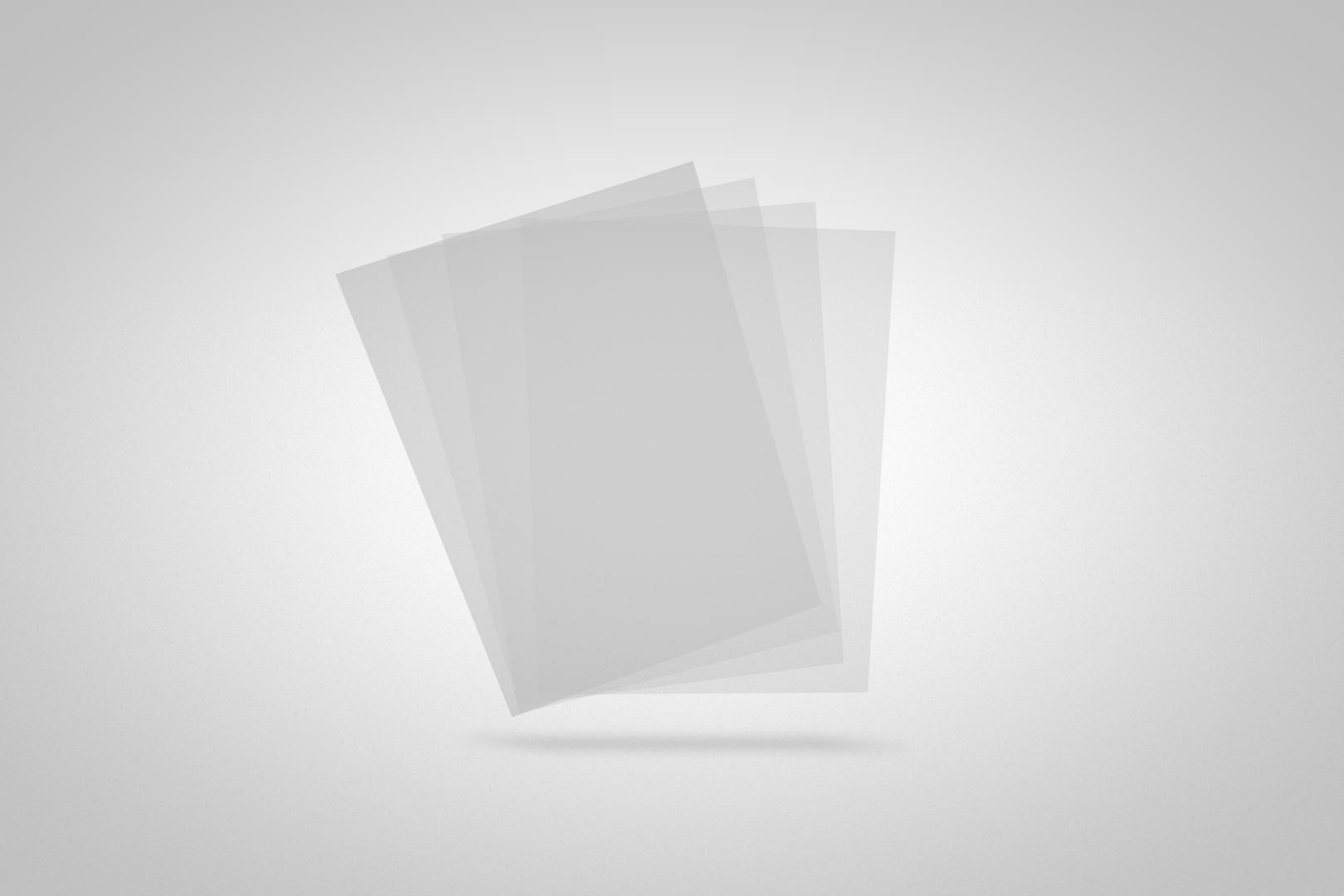 transparentfolie f 252 r laserdrucker din a4