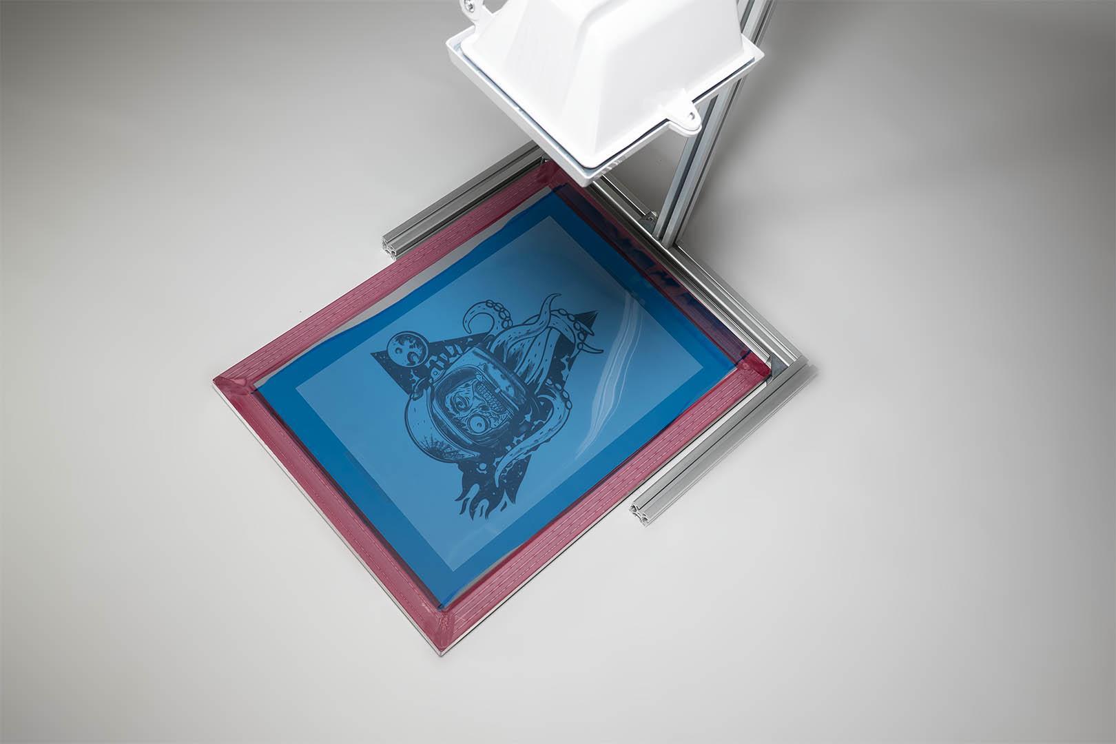 siebdruck belichtung anleitung siebbelichtung. Black Bedroom Furniture Sets. Home Design Ideas